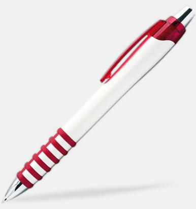 Röd / Vit Alexander - Bläckpennor med eget tryck