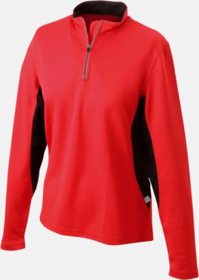Röd/Svart Träningskläder med eget tryck