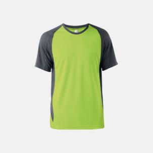 Tvåfärgade funktionströjor för män - med reklamtryck