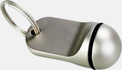 Metallnyckelring med lasergravyr