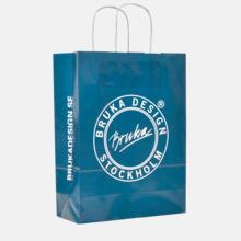Papperspåsar och papperskassar för butiker, mässor och event
