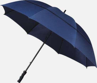Marinblå Golfparaplyer med eget tryck
