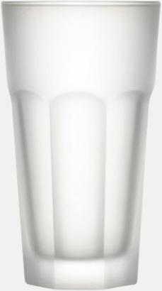Frostad Frostade dricksglas med reklamtryck
