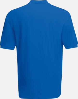 Pikétröjor med tryck eller brodyr