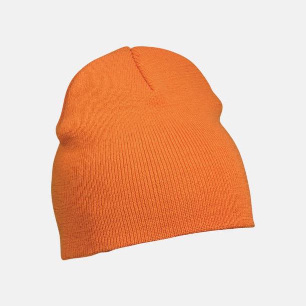 Orange Brodera billiga mössor som give away