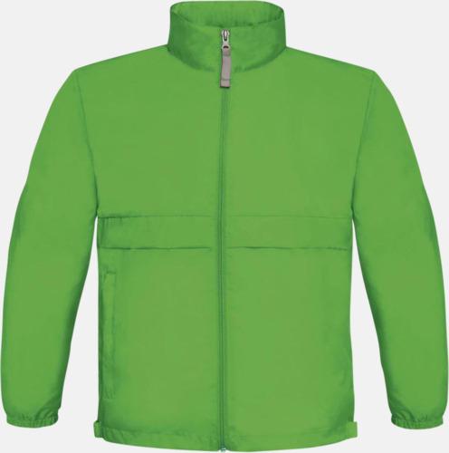 Real Green (barn) Vind- och vattentäta jackor för dam, herr och barn - med tryck