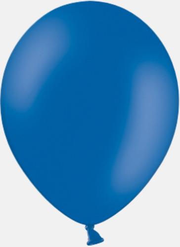 022 Royal blue pms 300 Reklamballonger med fototryck