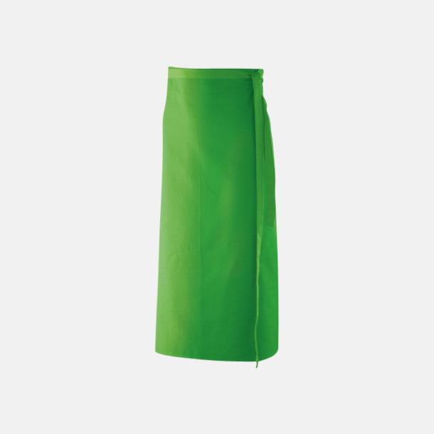 Lemon Green (100 x 80 cm) Förkläden i 5 varianter med reklamtryck