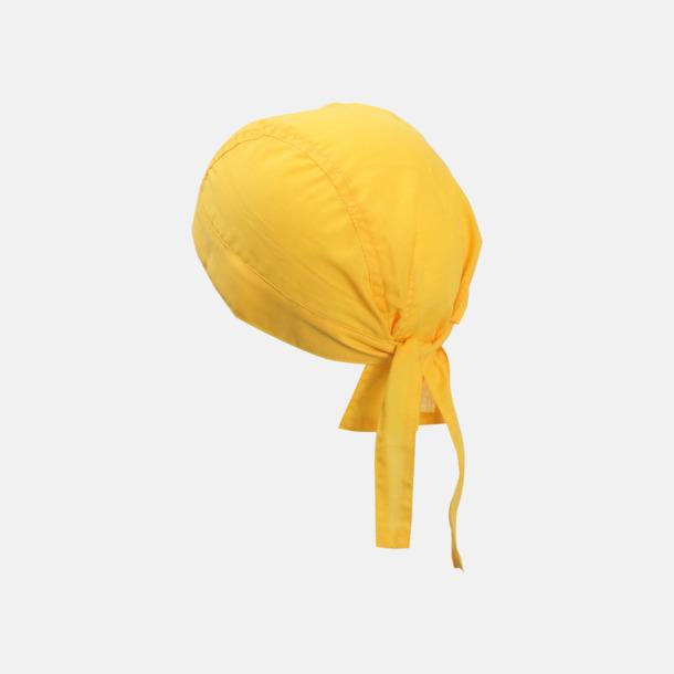 Guld (hatt) Bandanas i två varianter med reklambrodyr
