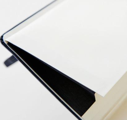 Innerficka Moleskine extra stora, mjuka notisböcker i 3 utföranden med reklamtryck