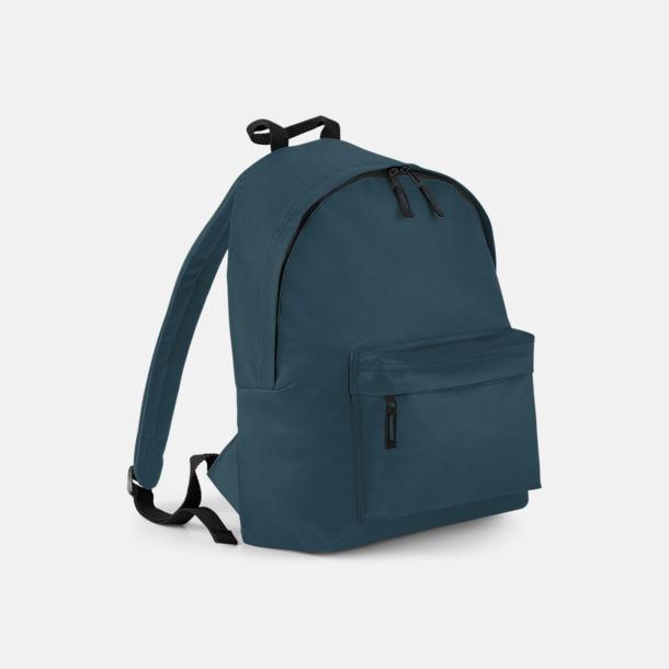 Airforce Blue Klassisk ryggsäck i 2 storlekar med eget tryck