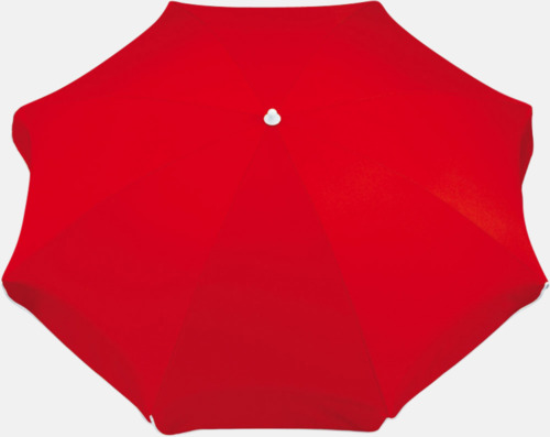 Röd Parasoller med eget tryck