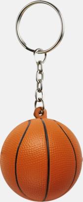 Basketboll Små antistress spelbollar med reklamtryck