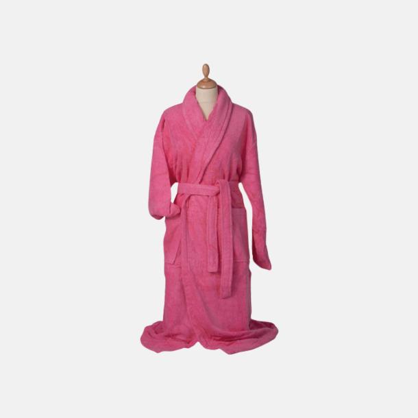 Rosa (medel) Färgglada badrockar med reklambrodyr