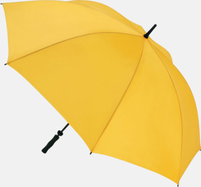 Gul Golfparaplyer med eget tryck