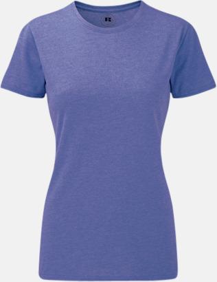 Purple Marl (dam) Färgstarka t-shirts i herr- och dammodell med reklamtryck