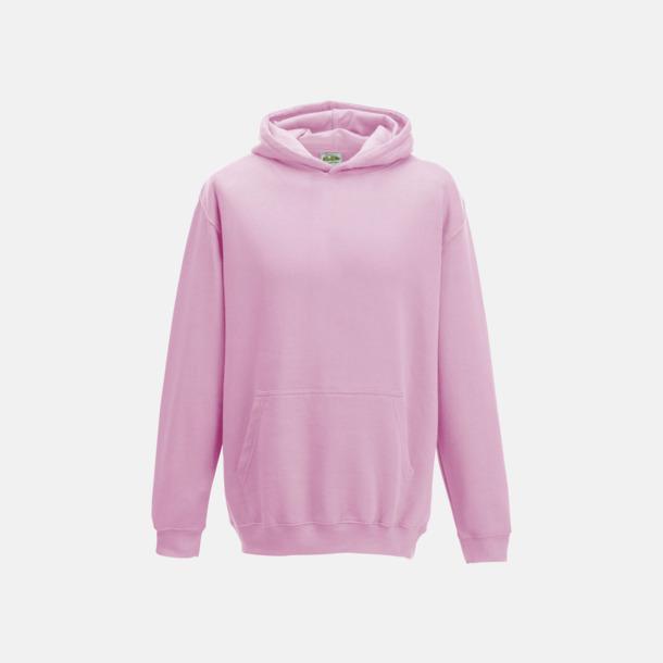 Baby Pink Huvtröjor för barn i många färger - med reklamtryck