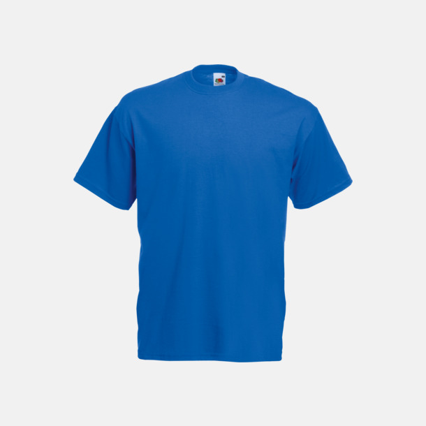 Royal Blue Valueweight t-shirt med tryck