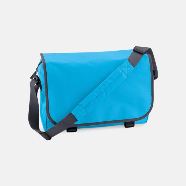 Surf blue/Graphite Grey Billiga väskor med reklamtryck