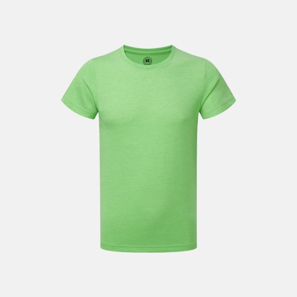 Green Marl (pojke) Barn t-shirts i u- och v-hals med reklamtryck