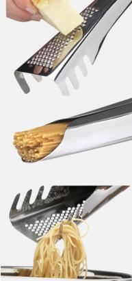 3 funktioner Pastagaffel med rivjärn från Sagaform