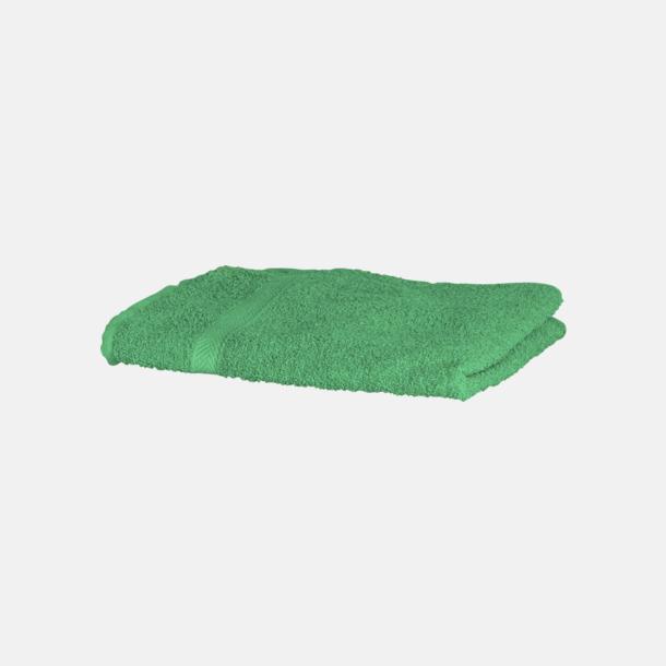 Bright Green Exklusiva handdukar med egen brodyr