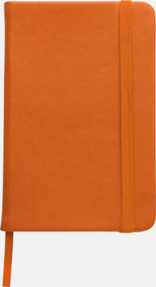 Orange Färgrika A6-anteckningsböcker med tryck
