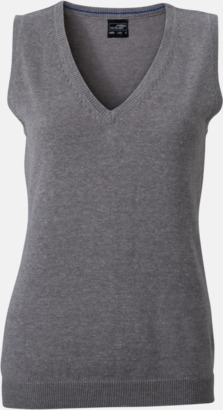 Heather Grey Pullovers med eget tryck