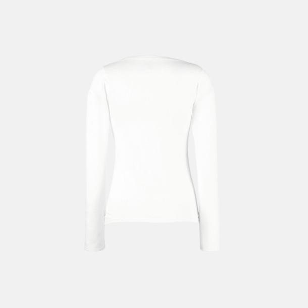 Långärmad dam t-shirt med logo