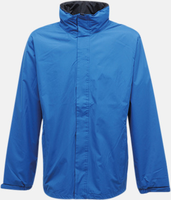 Oxford Blue/Seal Grey (solid) Vind- & regnjacka i herr- & dammodell med reklamtryck