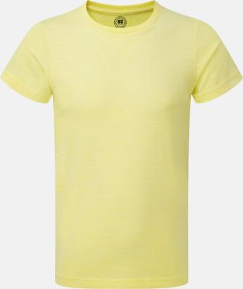 Yellow Marl (pojke) Barn t-shirts i u- och v-hals med reklamtryck