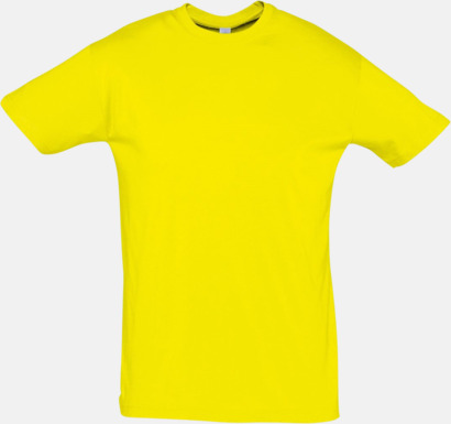 Lemon Billiga herr t-shirts i rmånga färger med reklamtryck