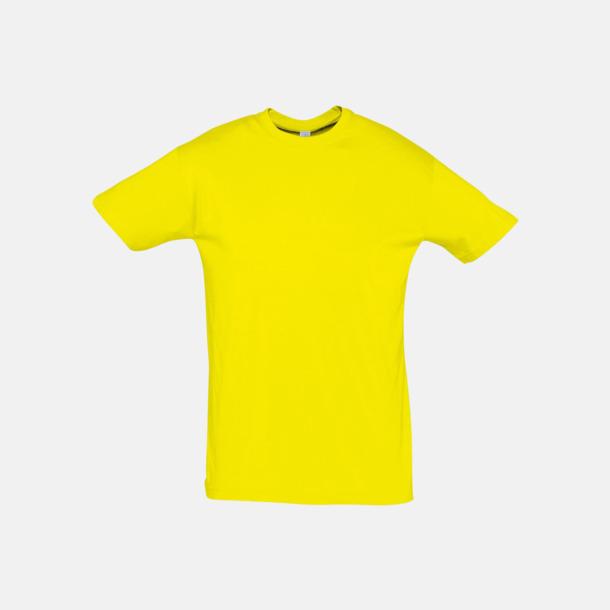 Lemon Billiga unisex t-shirts i många färger med reklamtryck