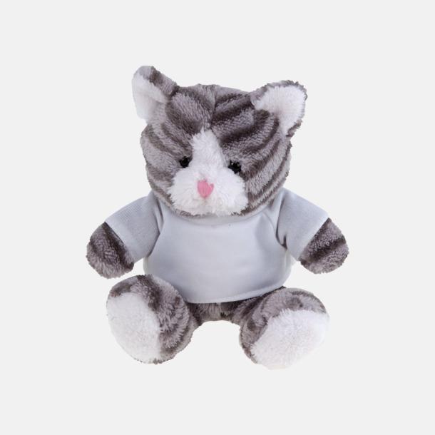 Katt Mjukisdjur med tryckta t-shirts