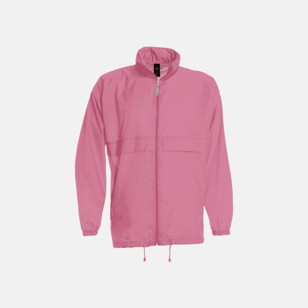 Pixel Pink (unisex) Vind- och vattentäta jackor för dam, herr och barn - med tryck