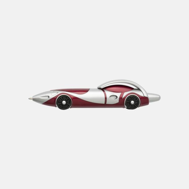 Röd Bilformade bläckpennor med reklamtryck