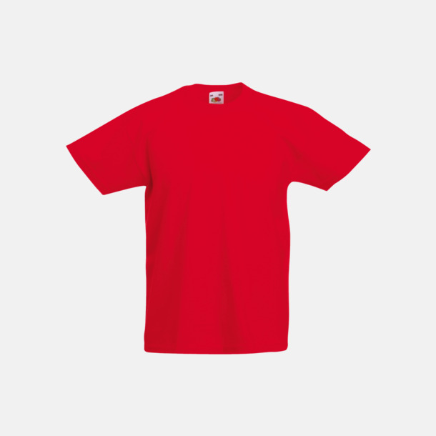 Röd T-shirt barn - Valueweigth barn t-shirt