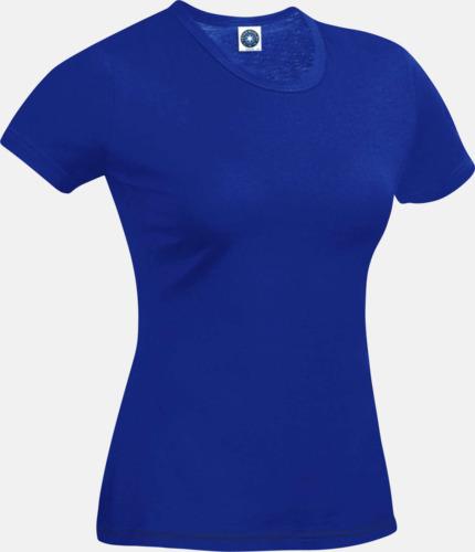 Royal Blue (dam) Funktions t-shirts i herr- & dammodell med reklamtryck