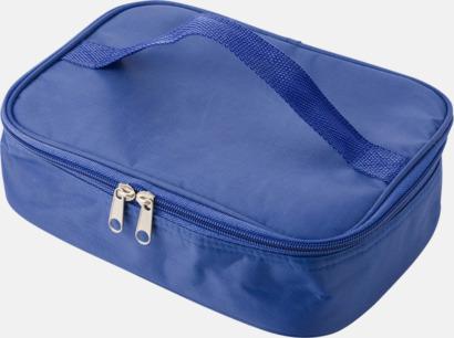 Blå Kylfodral med matlåda & bestick - med reklamtryck