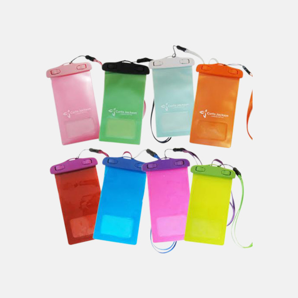 Plastspänne Skyddande mobilficka med eget tryck