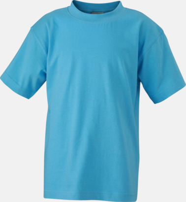Sky Blue Barn t-shirtar av kvalitetsbomull med eget tryck