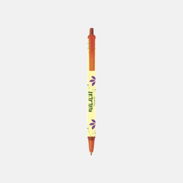Frosted Orange (Digital) Bic kontorspennor med eget tryck