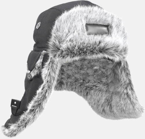 Medium Eskimo - Pälsmössa med tryck