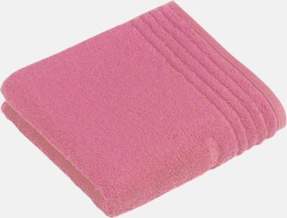 Dusty Rose Handdukar i 3 storlekar med reklambrodyr