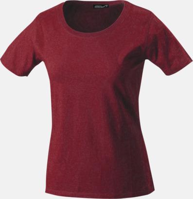 Wine T-shirtar av kvalitetsbomull med eget tryck