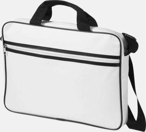 Vadderade laptopväskor i retrodesign - med reklamtryck