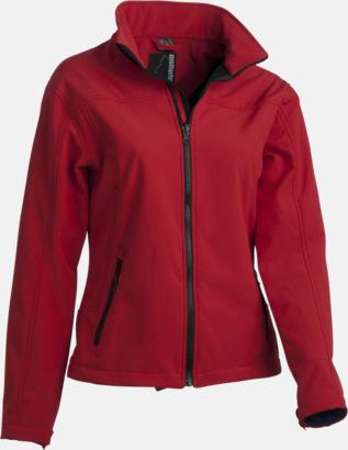 Röd (innerjacka - dam) Polyjacket 3 in 1 med eget reklamtryck eller brodyr
