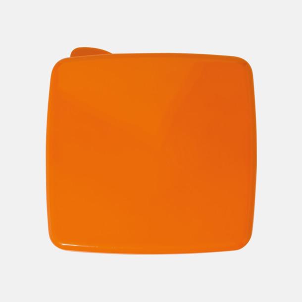 Orange Matlåda med kylare i locket - med reklamtryck