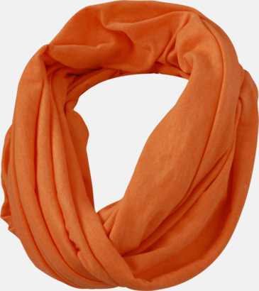 Orange Melange Tubrunda sommarscarfs med reklamlogo