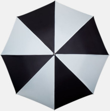Randiga paraplyer med eget tryck